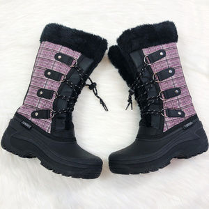 [TUNDRA] Girls Diana Faux Fur Lined Snow Boots